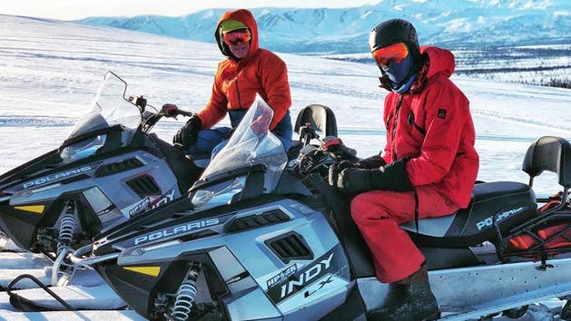 Alaska ATV Side By Side Snowmobile Adventure Tours Glacier