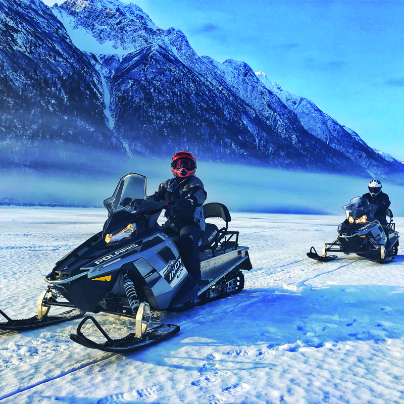 Alaska snowmobile Adventure Tours